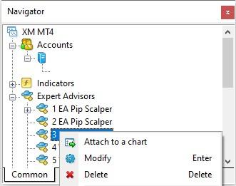 MetaTrader Expert Advisor